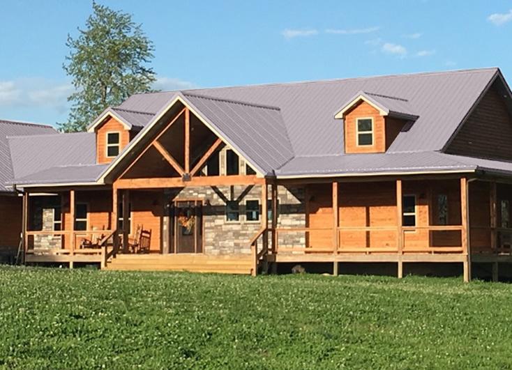 Log Cabin Metal Roof Colors